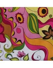 Flores muy grandes abstractas