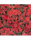 Navideñas flores rojas