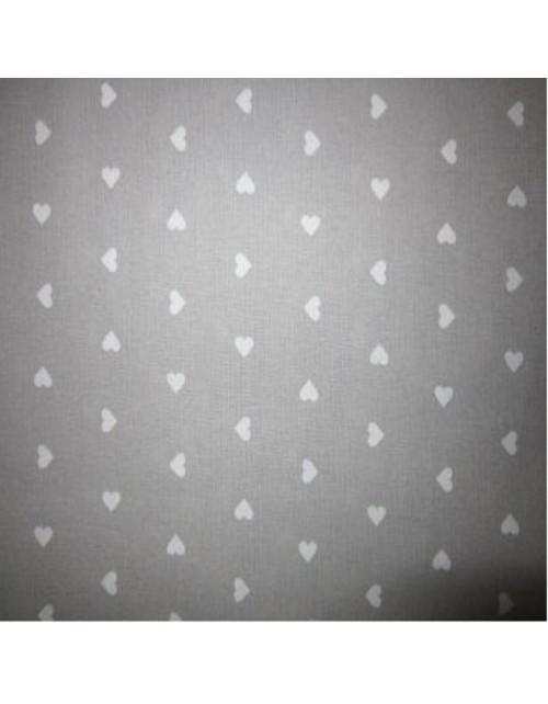 Romántica corazones blancos pequeños