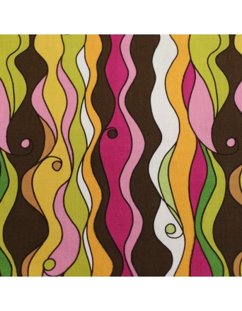 Rayas onduladas multicolor