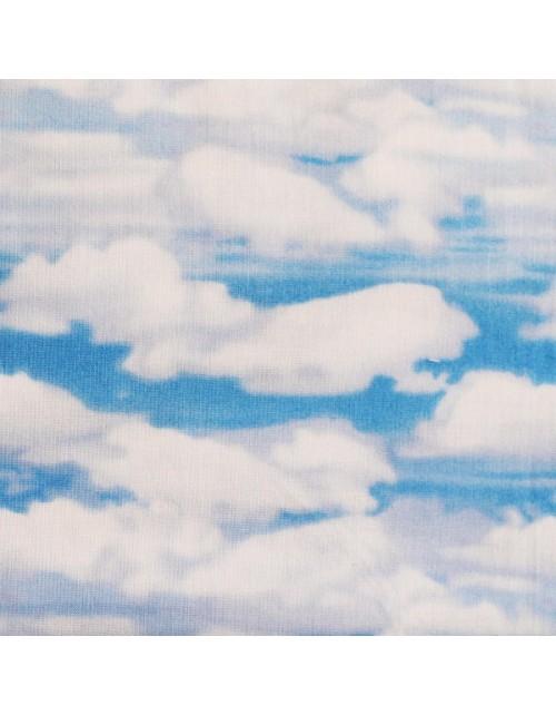 Naturaleza cielo con nubes