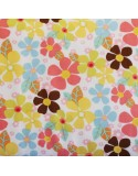 Flores medianas multicolor