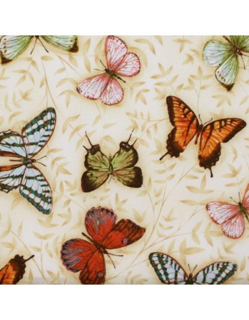 Animales mariposas con hojitas