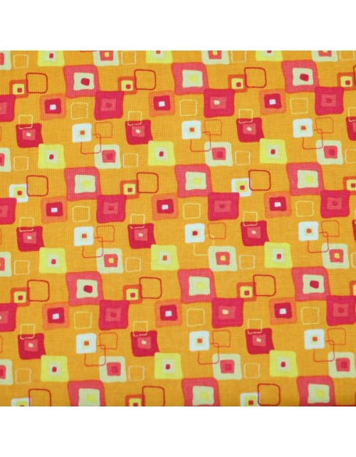 Infantil naranja cuadros