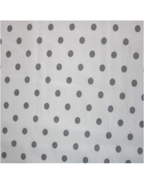 Topos gris oscuro fondo blanco
