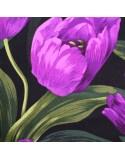 Flores grandes moradas