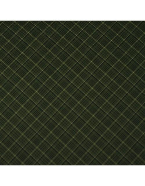 Cuadros en diagonal verde oscuro