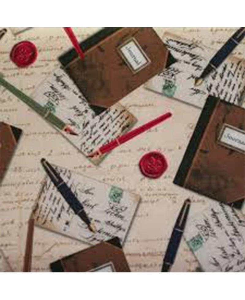Letras en cuadernos